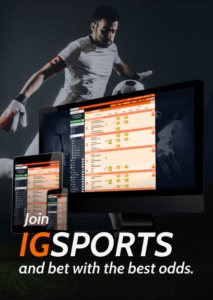 IGSPORTS and bet with the best odds
